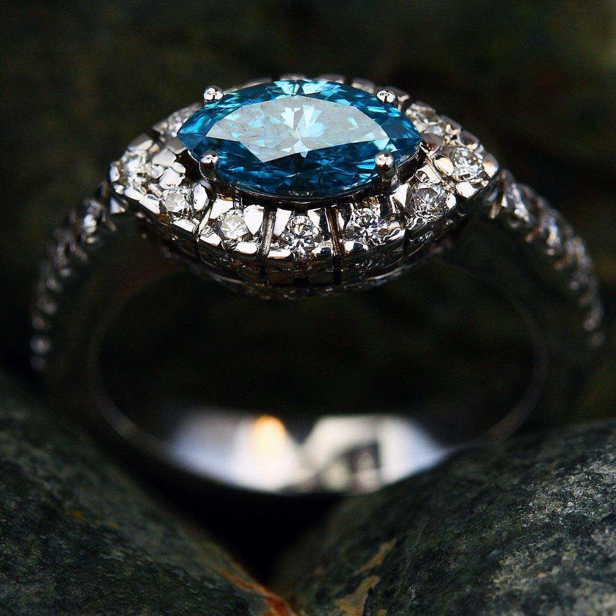 Custom Engagement Ring Grand Rapids Jeweler