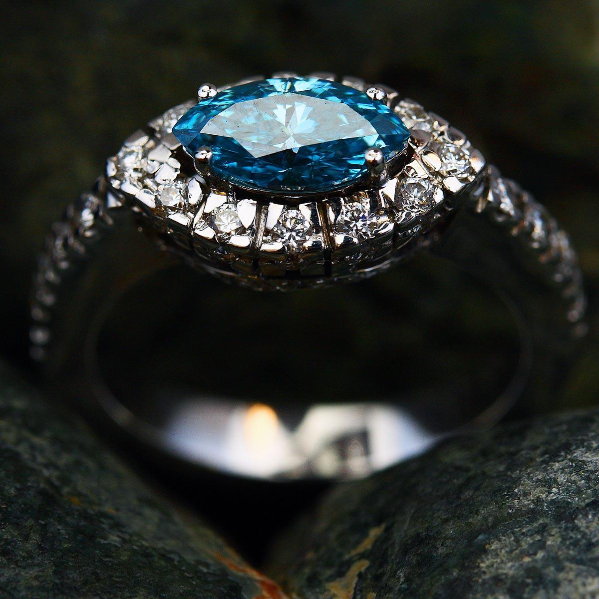 Custom Engagement Ring Grand Rapids Jeweler