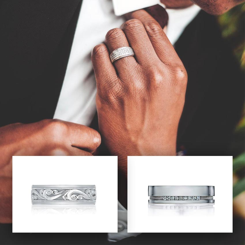 Men's Wedding Bands Grand Rapids Jewelry Store